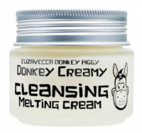 Крем для снятия макияжа - Donkey Piggy Donkey Creamy Cleansing Melting Cream - Elizavecca - 100 гр.