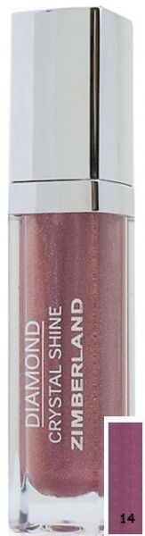 Блеск для губ №14 - Diamond Crystal Shine Maxi Gloss - Keenwell - 6 г.