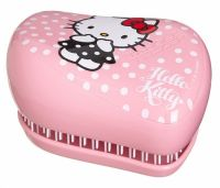 Расческа Ррозовая - Compact Styler Hello Kitty Pink - Tangle Teezer - 1 шт.