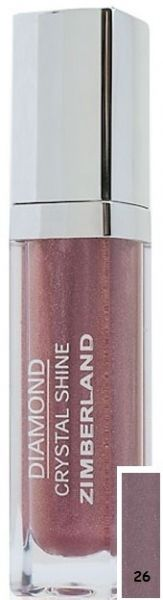 Блеск для губ №26 - Diamond Crystal Shine Maxi Gloss - Keenwell - 6 г.