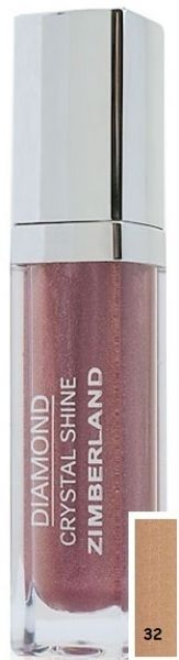 Блеск для губ №32 - Diamond Crystal Shine Maxi Gloss - Keenwell - 6 г.