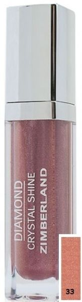 Блеск для губ №33 - Diamond Crystal Shine Maxi Gloss - Keenwell - 6 г.