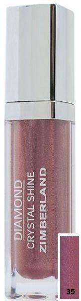 Блеск для губ №35 - Diamond Crystal Shine Maxi Gloss - Keenwell - 6 г.