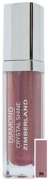 Блеск для губ №36 - Diamond Crystal Shine Maxi Gloss - Keenwell - 6 г.