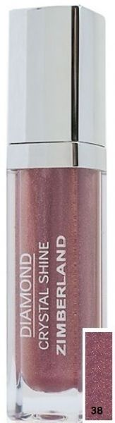 Блеск для губ №38 - Diamond Crystal Shine Maxi Gloss - Keenwell - 6 г.