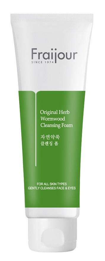 Пенка для умывания - Fraijour Original Herb Wormwood Cleansing Foam - Evas - 150 мл.