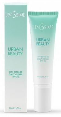 Защитный дневной крем с SPF 20 - Urban Beauty City Defense Daily Cream SPF 20 - Levissime - 50 мл.