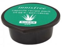 Капсульная маска для лица с экстрактом алоэ - Capsule Recipe Pack  Aloe - Innisfree - 10 мл.
