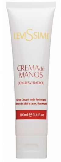 Крем для рук с ресвератролом - Hands Cream With Resveratrol - Levissime - 100 мл.