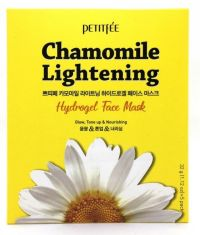 Гидрогелевая маска экстрактом ромашки - Chamomile Lightening Hydrogel Face Mask - Petitfee - 5 шт.