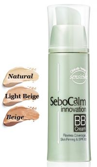 BB крем тон 02 Бежевый - Innovation BB Cream 02 Beige - SeboCalm - 30 мл.