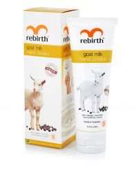 Крем для рук с экстрактом козьего молока - Goat Milk Hand Cream   - Rebirth - 75 мл.