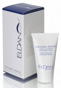 Крем для глазного контура - Premium cellular shock Eye contour nourishing cream - Eldan - 30 мл.