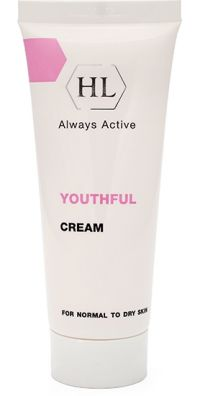 Крем для  сухой кожи - Youthful Cream for normal to dry skin - Holy Land (HL) - 70 мл.