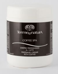 Массажный крем с Кофе - Massage Cream  with Coffee - Terme e natura - 1000 мл.