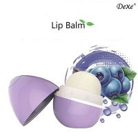 Бальзам для губ Спелая Голубика - Lip Balm Blueberry - Dexe - 7 г.