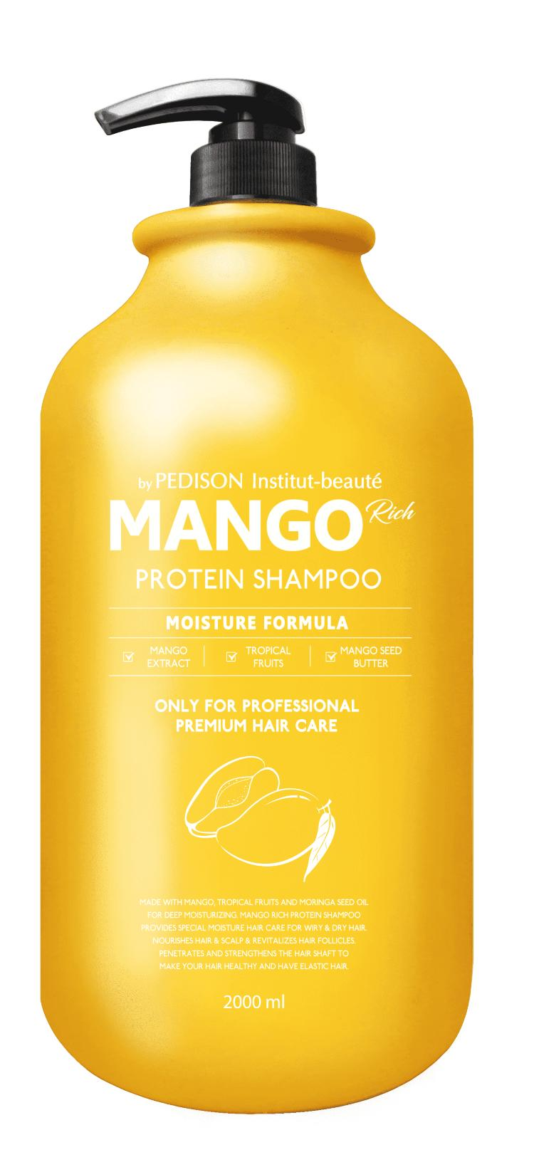 Шампунь для волос Манго - Pedison Institute-Beaute Mango Rich Protein Hair Shampoo - Evas - 2000 мл.