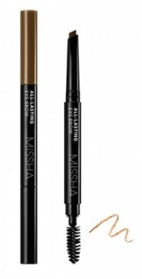 Карандаш для бровей - All-lasting Eye Brow (Natural Brown) - Missha - 0,2 гр.