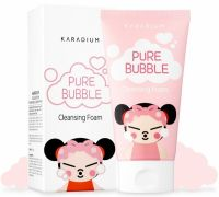 Пенка для умывания - Pure Bubble Cleansing Foam Pucca Edition - Karadium - 150 мл.