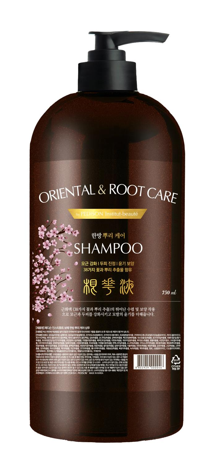 Шампунь для волос Травы - Pedison Institut-Beaute Oriental Root Care Shampoo - Evas - 750 мл.