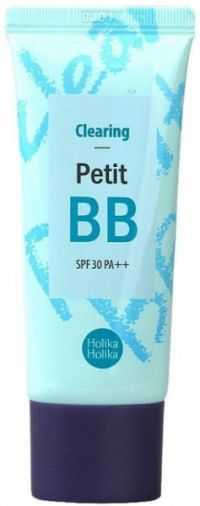 ББ-крем для проблемной кожи с экстрактом чайного дерева - Petit BB Clearing - Holika Holika - 30 мл.