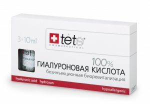 Гиалуроновая кислота 100% - Pure Hyaluronic acid - TETе Сosmeceutical - 3 х 10 мл.