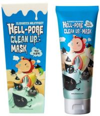 Очищающая маска для лица - Hell Pore Clean Up Mask - Elizavecca - 100 мл.