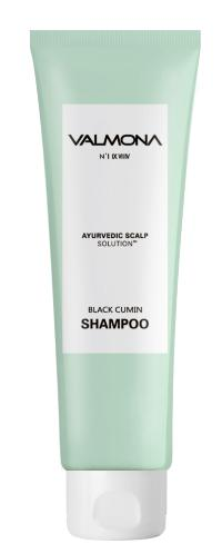 Шампунь для волос Аюрведа - Valmona Ayurvedic Scalp Solution Black Cumin Shampoo - Evas - 100 мл.