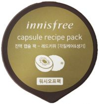 Маска для лица с экстрактом красного киви - Capsule Recipe Pack Red Kiwi - Innisfree - 10 мл.