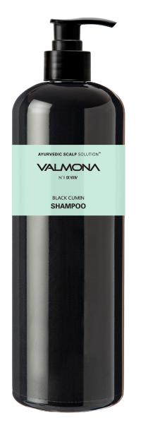 Шампунь для волос Аюрведа - Valmona Ayurvedic Scalp Solution Black Cumin Shampoo - Evas - 480 мл.