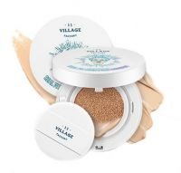 Увлажняющий кушон - Real Fit Moisture Cushion SPF50+ PA+++ № 13 Light Вeige - Village 11 Factory - 15 гр.