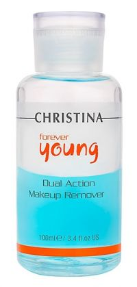 Двухфазное средство для демакияжа - Forever Young Dual Action Make up Remover - Christina - 100 мл.