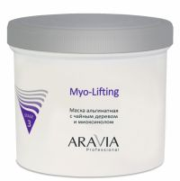 Маска альгинатная с чайным деревом и миоксинолом  - Myo-Lifting - Aravia-Professional - 550 мл.