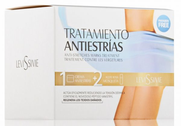Набор от растяжек - Anti Stretch Marks Treatment - Levissime - 200/50 мл.