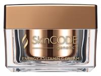 Крем для лица с Витамином С - Energy + vitamin С cream -  Skingenetic's CODE - 50 мл.