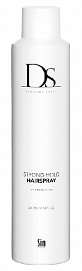 Лак сильной фиксации - DS Perfume Free Cas Strong Hold Hairspray - Sim Sensitive - 300 мл.