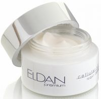 Ночной крем - Premium cellular shock night cream - Eldan - 50 мл.